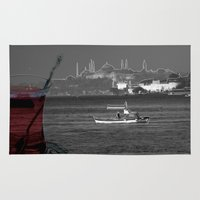 istanbul Area & Throw Rugs featuring istanbul by Cenk Cansever