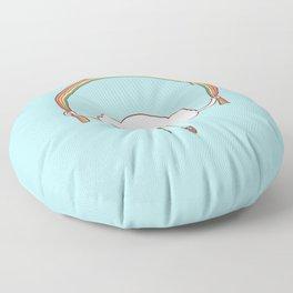 Rainbow Skipping Floor Pillow