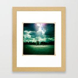 Fontaine des Mers, Place de la Concorde, Paris. Framed Art Print