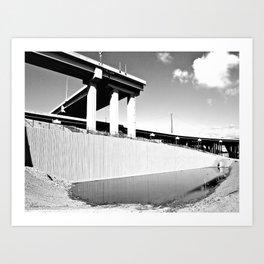 Tacoma's Sprague L Art Print