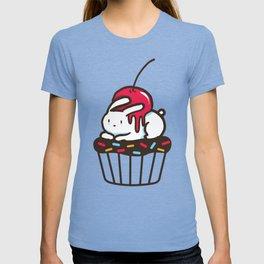 Chubby Bunny on a cupcake T-shirt