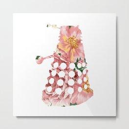 Floral Dahlek Metal Print