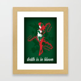 LoL - Zyra, Rise of the Thorns Framed Art Print