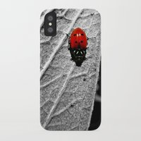 ladybug iPhone & iPod Cases featuring Ladybug by Derek Fleener