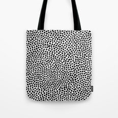 Black Triangles Tote Bag