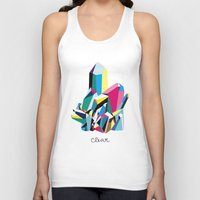 clear Tank Tops featuring crystal clear by SUPSY