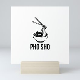 PHO SHO Mini Art Print