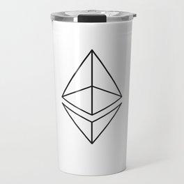 Ethereum Diamond Travel Mug