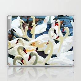 Swans on the Lake Laptop & iPad Skin