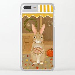 oliver's pies Clear iPhone Case