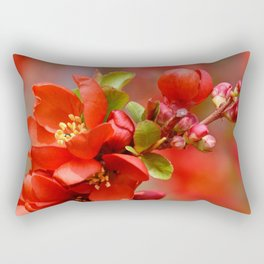 Red 95 Rectangular Pillow