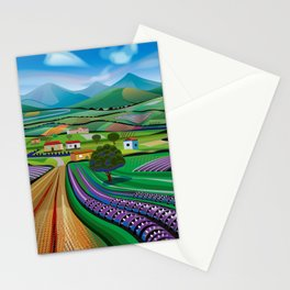 Morning in Avocado Hills Stationery Cards