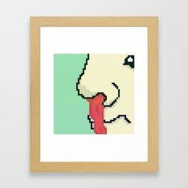 Anime Boner Framed Art Print