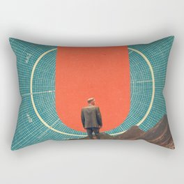 The only Compass is Observance Rectangular Pillow