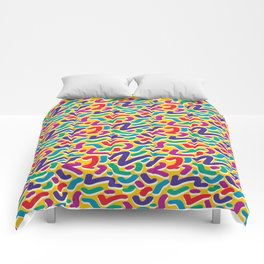 Parade of Colours Comforters