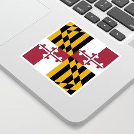 State flag of Flag Maryland Sticker