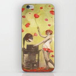Poppy Frenzy  iPhone Skin