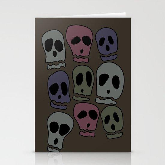 Skulls-2 Stationery Cards