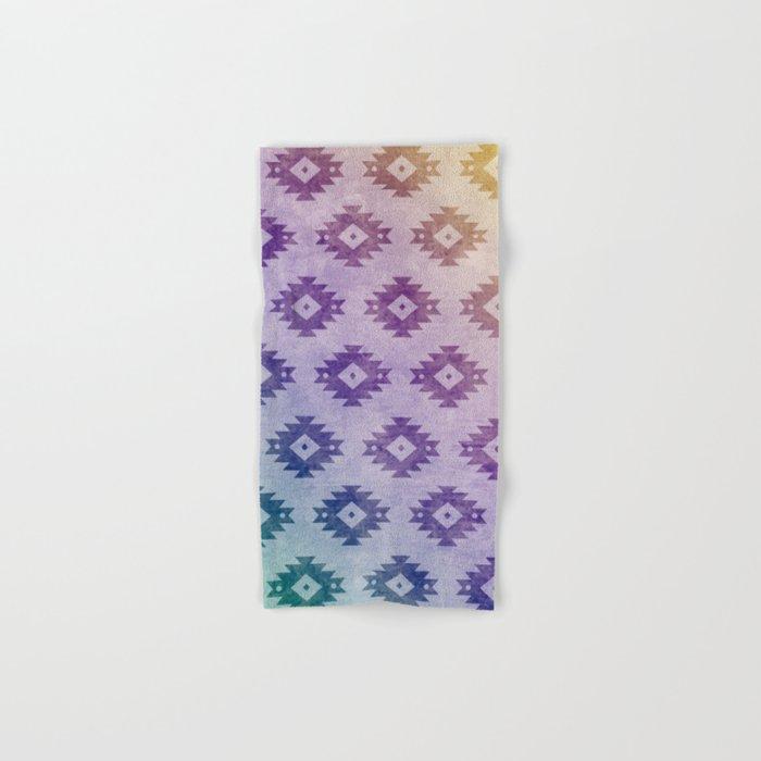 Aztec Pattern 06 Hand & Bath Towel