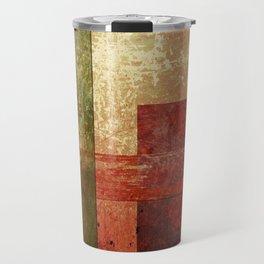Converge, Abstract Grunge Art Travel Mug