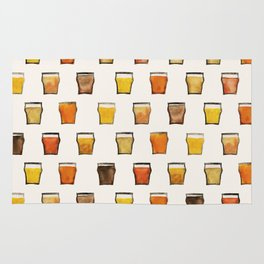 All the Beer in the World Rug