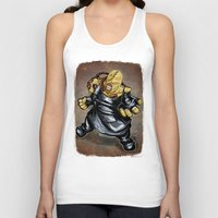 resident evil Tank Tops featuring Nemesis: Resident Evil by Patrick Scullin