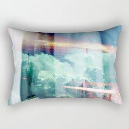 glitch cloud 8. Rectangular Pillow