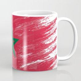 Marocco's Flag Design Coffee Mug
