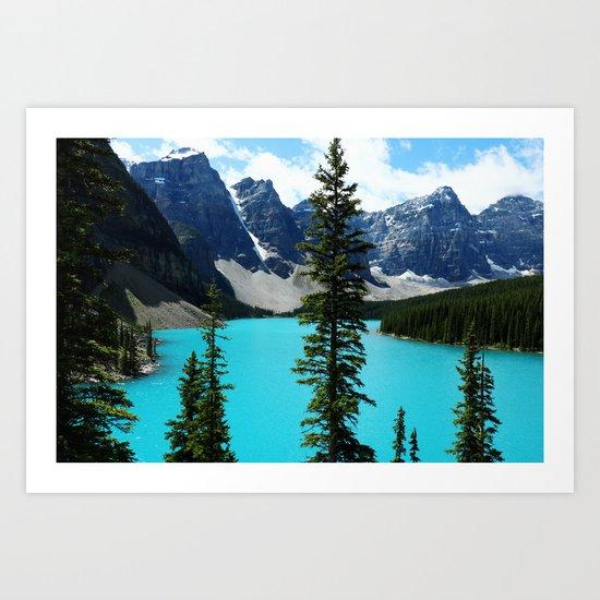 Moraine Lake, Canada Art Print