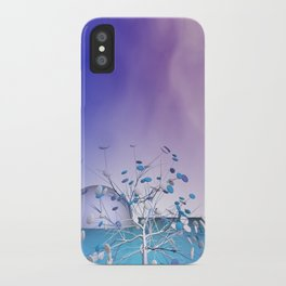 window curtain - candytree iPhone Case