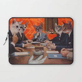 Cats have an agenda Laptop Sleeve