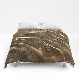 Hades Golden Flocks Comforters