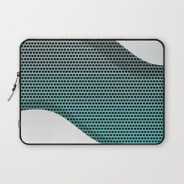 Silver Metal Texture background  #society6 #decor #buyart #artprint Laptop Sleeve