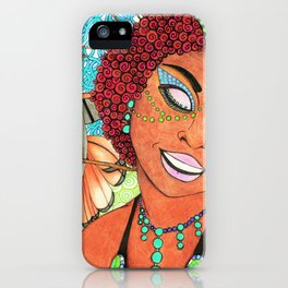 Trinidad & Tobago Color iPhone Case