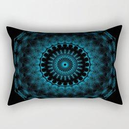 Snowflake #005 solid Rectangular Pillow