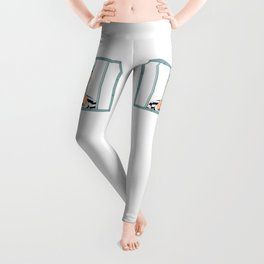 Prison Convict Captive Leggings