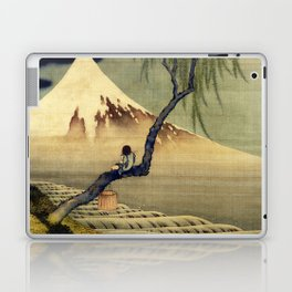 Katsushika Hokusai Boy Viewing Mount Fuji Laptop & iPad Skin