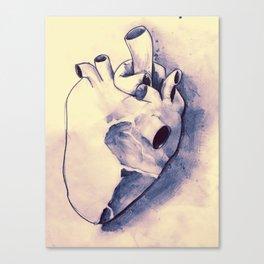 corazónS Canvas Print