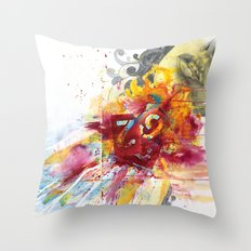 MINGA x Delivery of a Gift Throw Pillow