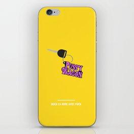 BUCK CA RIME AVEC FUCK ( Kill Bill ) iPhone Skin