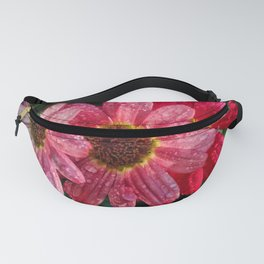 Three Dripping Flowers Fanny Pack
