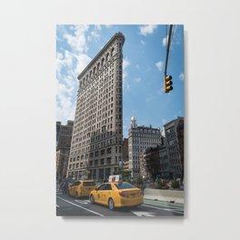 Flatiron Building, New York City Metal Print