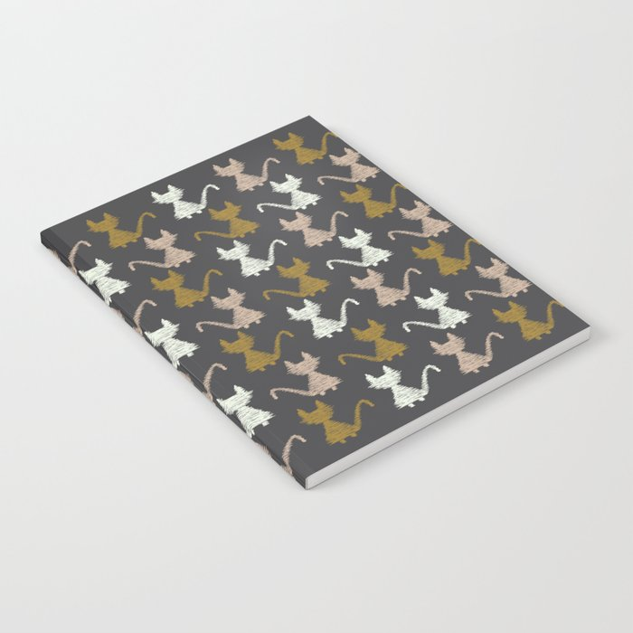 Cat pattern 2 Notebook