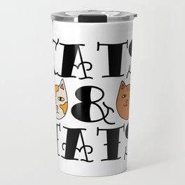 Cats and Tats Travel Mug