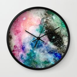 Obscured Space Wall Clock