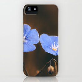 Flower Photography by Mack Fox (MusicFox) iPhone Case