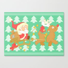 Santa 2014 Canvas Print