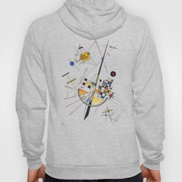 Kandinsky Delicate Tension No. 85, 1923 Artwork Reproduction, Design for Posters, Prints, Tshirts, Men, Women, Kids, Youth Hoody