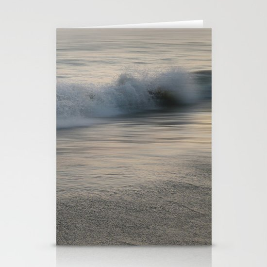 Misty Morning At Sea Stationery Cards