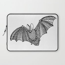 Zentangle bat Laptop Sleeve